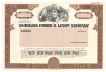 Carolina Power & Light Company