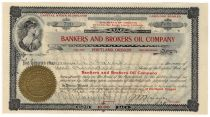 Bankers and Brokers Oil Company – Oil Lands, San Benito County, California
