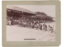Bicycle Race At Willow Grove Park, C. 1890's