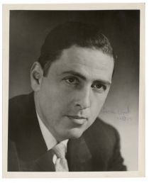 Herman Wouk Signed Photograph