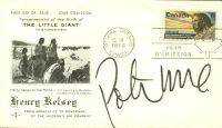 Peter Max Signs A Canadian First Day Cover