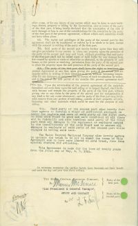Louis F. Swift Signs An Agreement With The Maine Central Railroad