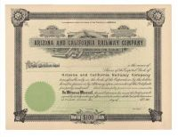 Arizona And California Railway Company
