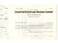 Crosbyton-Southplains Railroad Company