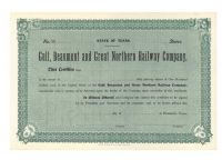 Gulf, Beaumont And Great Northern Railway Company