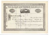 The Marion & McPherson Railroad Co.