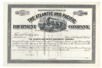 The Atlantic And Pacific Equipment Company