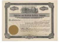Fullerton And Richfield Railway Company