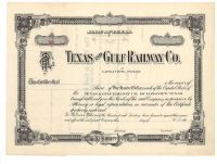 Texas And Gulf Railway Co.