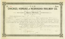 Chicago, Kansas & Nebraska Railway Co.
