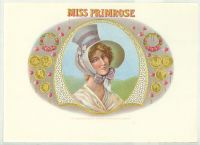 Miss Primrose Inner Label