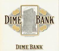 Dime Bank Inner Label