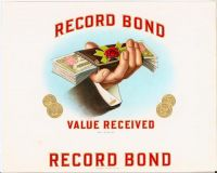 Record Bond Inner Label