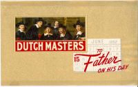 Dutch Masters Inner Label