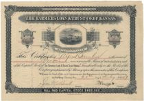The Farmers Loan & trust Co. of Kansas – Anthony Kansas