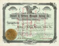 Brainerd & Northern Minnesota Railway Co.