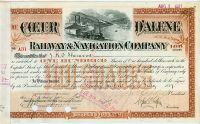 Coeur D�alene Railway And Navigation Company