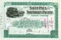 Saint Paul And Northern Pacific Railway Company