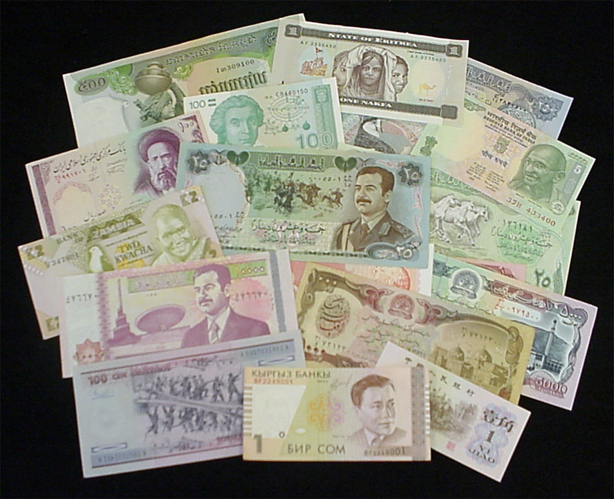 Sell foreign currency