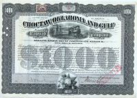 Choctaw, Oklahoma & Gulf Rr Co.