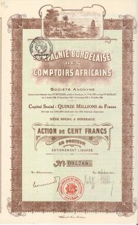 Compagnie Bordelaise Des Comptoirs Africains S.A.