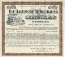 Baltimore Refrigerating & Heating Company Of Baltimore City