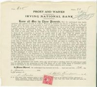 Advertising Pioneer J. Walter Thompson Signs A Banking Document