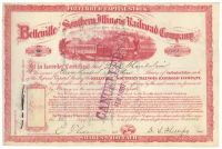 Belleville & Southern Illinois RR Company Stock